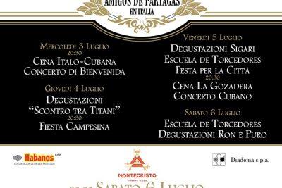 Aniversario Encuentro Amigos de Partagas en Italia