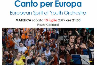 Canto per Europa – European Spirit of Youth Orchestra