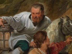 """dipinto """"carita' del duca Ferdinando"""""""